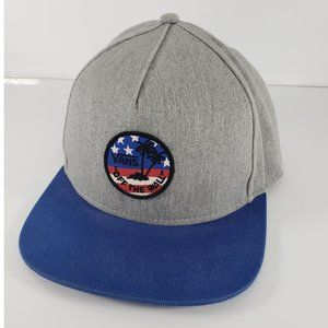 Vans Off The Wall Hat American Flag Patch Palm